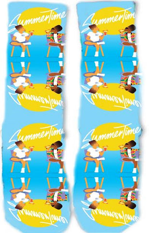 Fresh Prince Summertime Socks