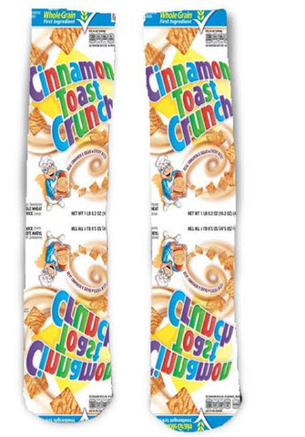Cinnamon Toast Crunch Cereal Socks
