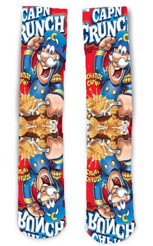 Captain Crunch Cereal Socks