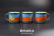Load image into Gallery viewer, Daisies & Dunes Enamel Mug