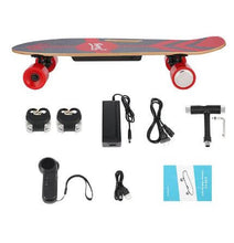 Load image into Gallery viewer, affordable electric skateboard contents that come in the box
