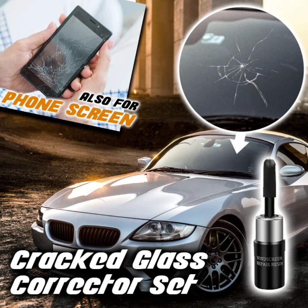 Multipurpose Car Window Cracked Glass Repair Recover Kit - DailyShopz™