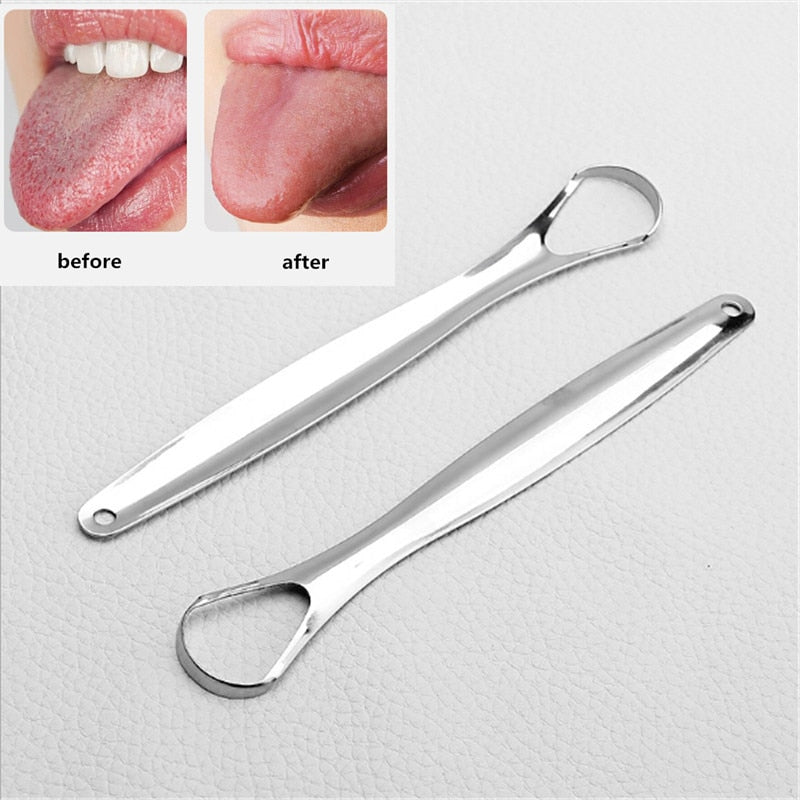 Tongue Scraper Stainless Steel - DailyShopz™