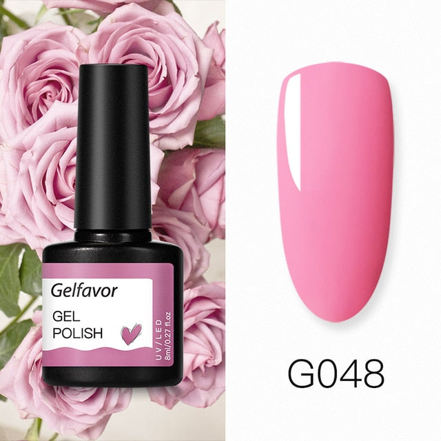 Gelfavor UV Nail Gel  For Manicure Nail Set Kit - DailyShopz™