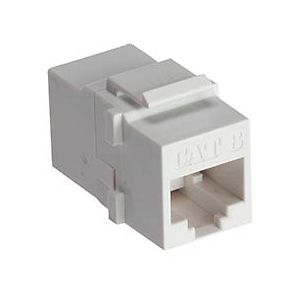Allen Tel AT66C-15 Cat 6 Coupler, White