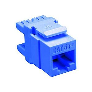 Allen Tel AT65-20 Cat 5e High Density Jack Module, Blue