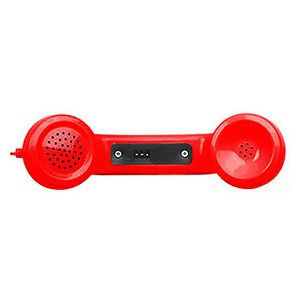 Allen Tel GBG6M-47 Modular Amplified Handset-No Cord, 4-Conductor, Red