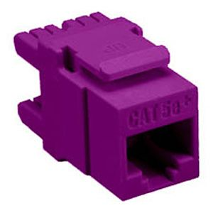 Allen Tel AT65EZ-28 Cat 5e, E-Z Jack Module, Purple