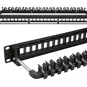Allen Tel AT10GPNL-12 Cat 6A 10Gb Patch Panel