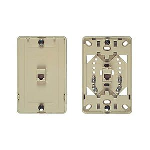 Allen Tel AT219-6 Screw Terminal Wall Phone Jack-6-Conductor