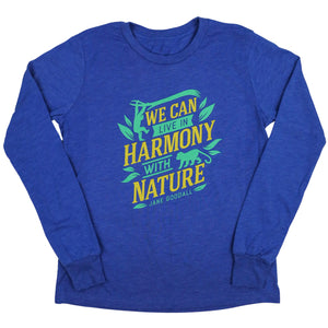 Makoshey Jane Goodall Long Sleeve T-Shirt