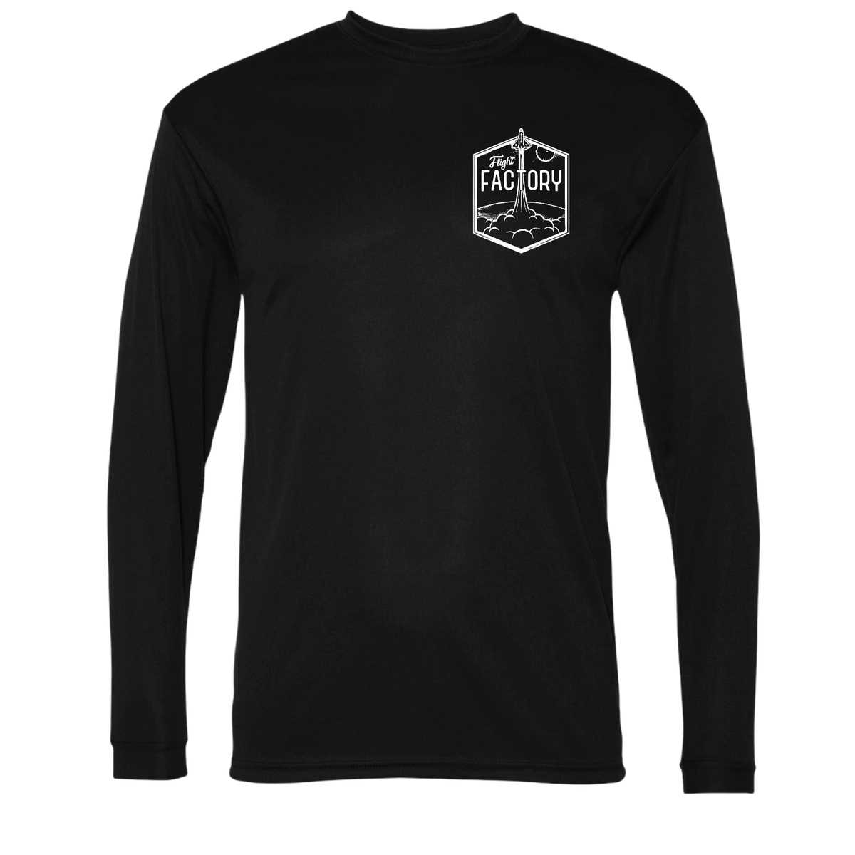 Flight Factory Small Blast Off Performance Long Sleeve Dri-Fit Shirt