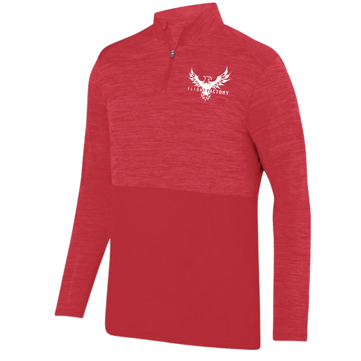 Flight Factory Small Eagle Heather Tonal 1/4 Zip Pullover