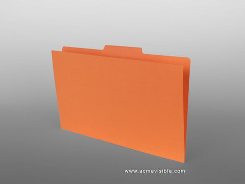 Top Tab Folders (2/5 Offset Cut), Acme Visible - 1