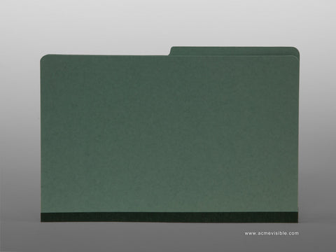 Pressboard Expansion Folders (Top Tab, 1/2 Cut), Acme Visible