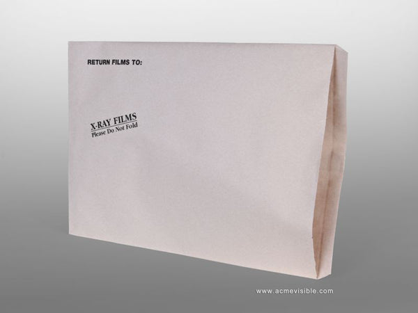 X-Ray Mailing Envelopes, Acme Visible