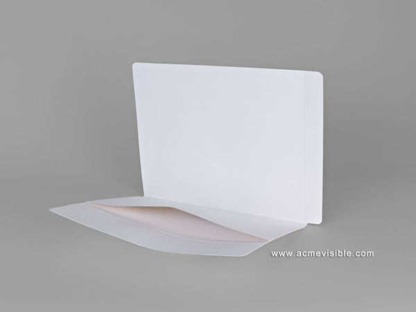 Dental Folders (Fully Laminated,  1/2 Height Pan Pocket), Acme Visible - 1
