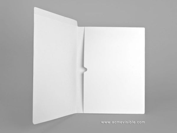 Dental Folders (Fully Laminated, Full Pan Pocket), Acme Visible