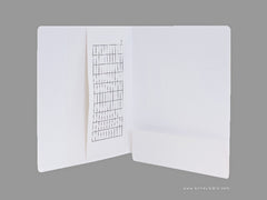 Dental Folders (Fully Laminated,  Flap On End Tab), Acme Visible