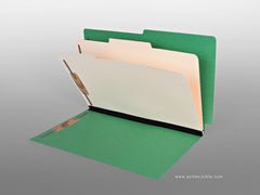 Made To Order Classification Folders, Acme Visible - 2