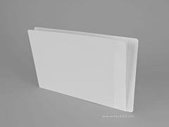 Heavy Duty Side Tab File Folders (Full End Tab / Partial Mylar), Acme Visible - 3