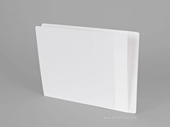 Heavy Duty Side Tab File Folders (Full End Tab / Partial Mylar), Acme Visible - 1