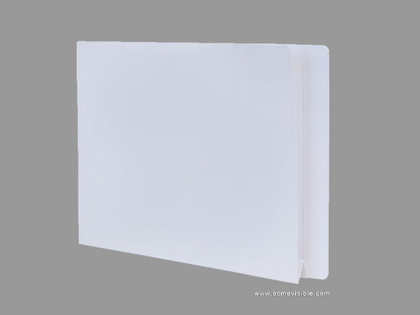 Expansion Folders (Mylar Laminated, End Tab), Acme Visible - 1