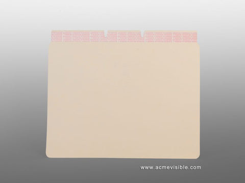 Self Adhesive Dividers (Manila), Acme Visible - 1