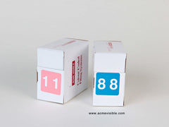 Acme Visible Numeric Colour Coded Labels - 0400 Series, Acme Visible - 2