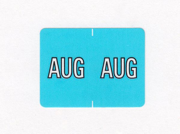 Datafile Compatible Month Labels - K4160 Series (rolls), Acme Visible - 1