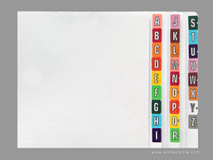 Acme Visible Alphabetic Colour Coded Labels - K5114 Series (Roll), Acme Visible - 2