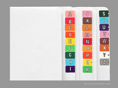 Acme Visible Alphabetic Colour Coded Labels - K5314 Series, Acme Visible - 2