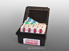 TAB Compatible Alphabetic Colour Coded Labels - K5500 Series (Package), Acme Visible - 4