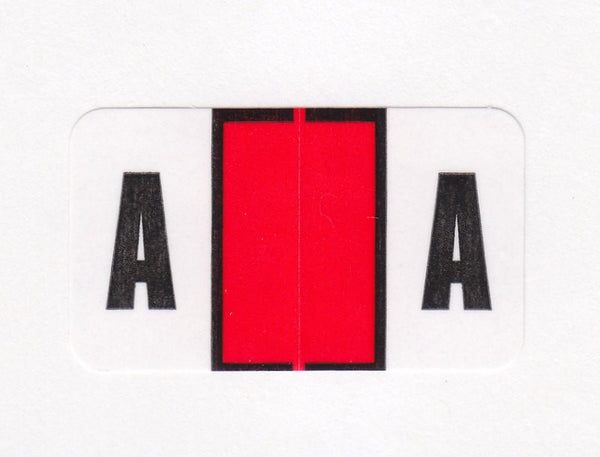 Safeguard Compatible Alphabetic Colour Coded Labels - SGA Series, Acme Visible - 1