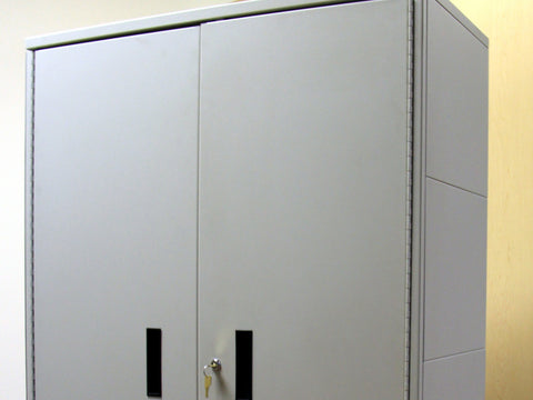 Hinged Door Storage Cabinets, Acme Visible - 1