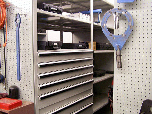Parts Shelving and Storage, Acme Visible - 1