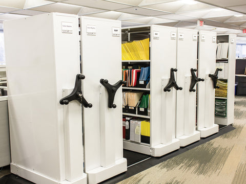 Spacefile SDS Mechanical Assist Mobile Shelving, Spacefile - 1
