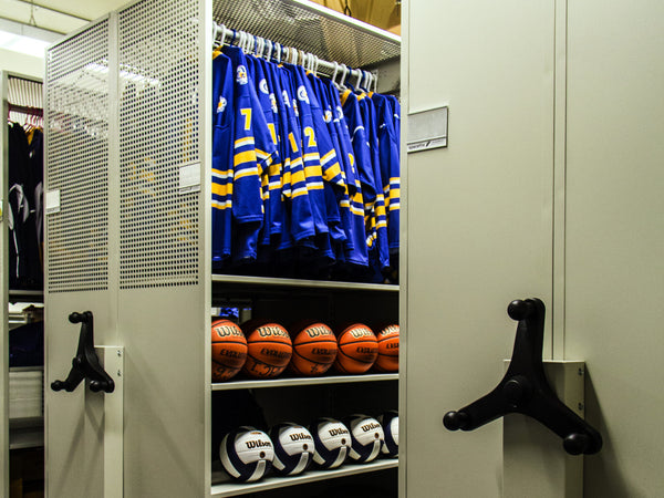 Athletic Equipment Shelving and Storage, Acme Visible - 1