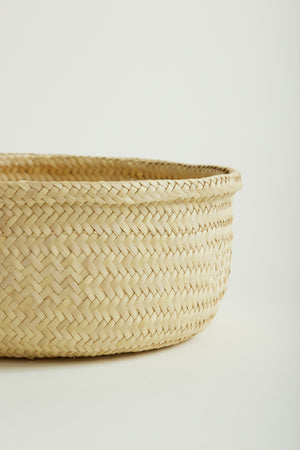 Mexican Hand Woven Basket