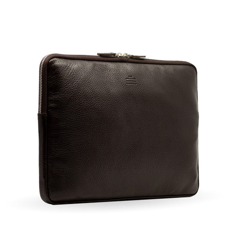 Laptoptasche Leder Braun 13 Zoll Macbook Port 13