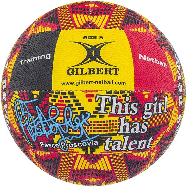 Gilbert Signature Peace Proscovia Ball