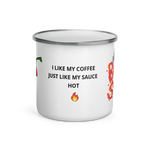 Load image into Gallery viewer, BAUCE SAUCE TIN MUG