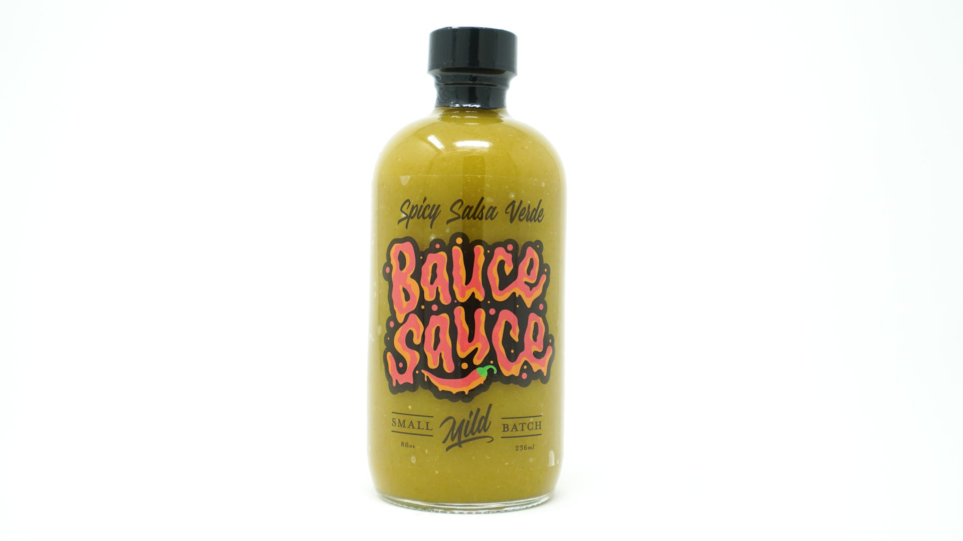 Spicy Salsa Verde Hot Sauce