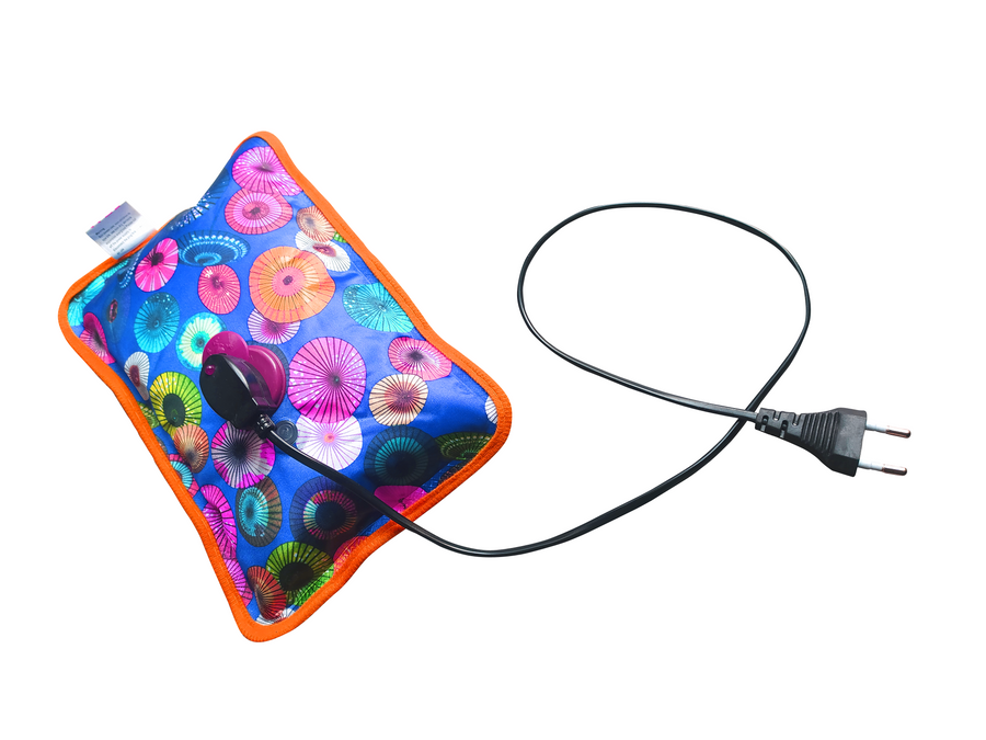 Electric Heating Pad 1 L Hot Water Bag with Power Cable