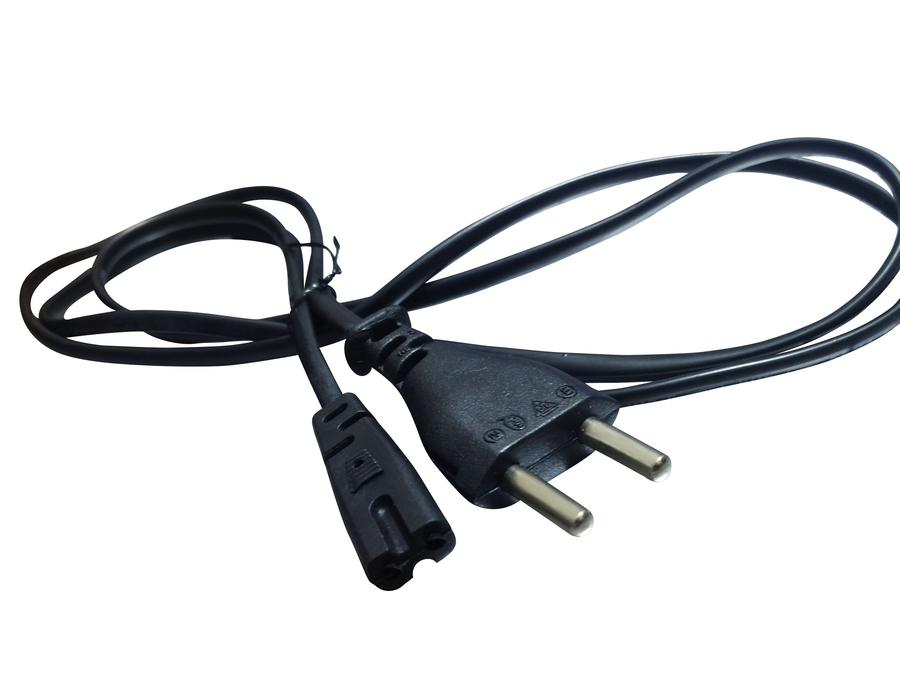 2 PIN Power Cord AC Power cable 1.5m