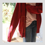 IEFB men's knitted cardigan sweater korean style fashion loose thick solid color fashionable male's vintage coat tops 9Y3268