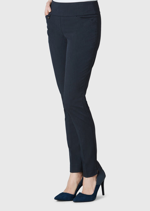 Gaby Stretch Fabric 31'' Slim Pant With Pockets