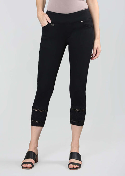 Betty Denim 24'' Cropped Pant