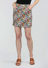 Liberty Paisley Print 18'' Skort With Pockets