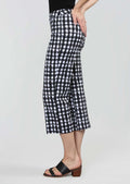 Kahlo Check Pattern 24'' Crop Trouser